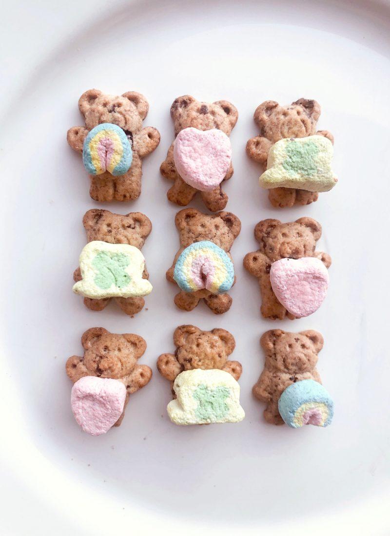 Teddy Grahams & Lucky Charms Marshmallows