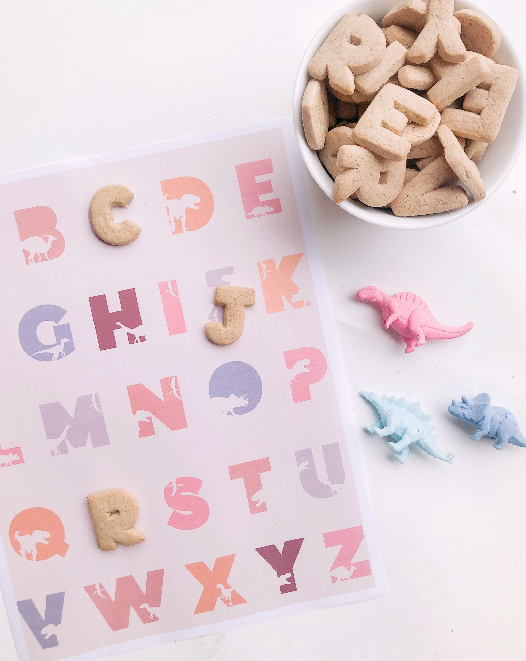 Dinosaur Alphabet Printable