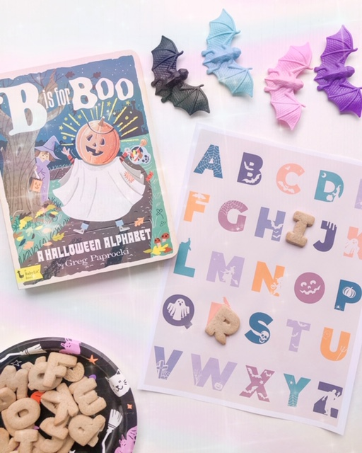 FREE DOWNLOAD: Halloween Alphabet and Number Print