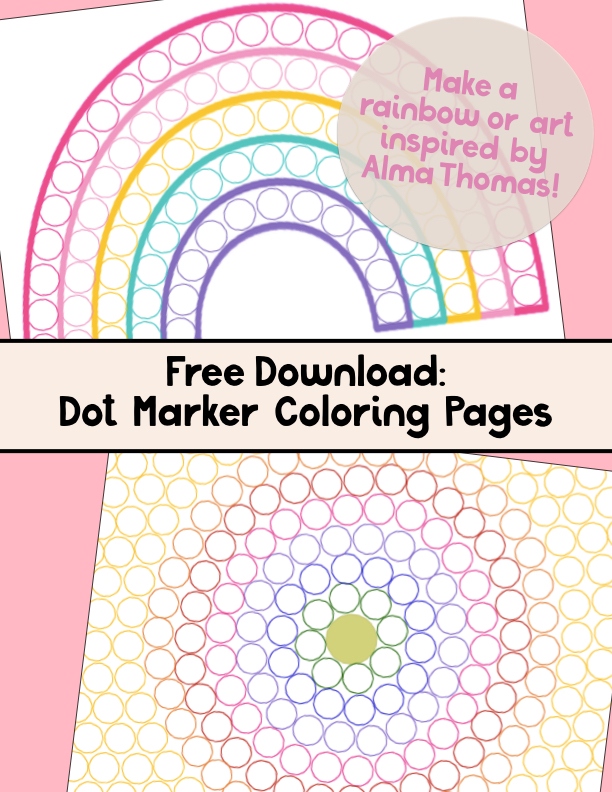 FREE DOWNLOAD: Dot Marker Coloring Pages
