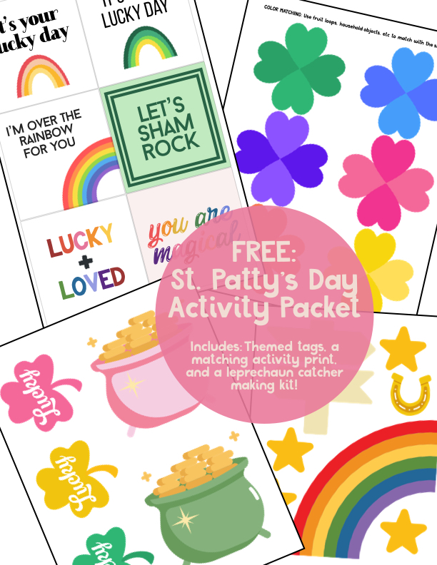 FREE DOWNLOAD: St. Patty's Day Activity Kit