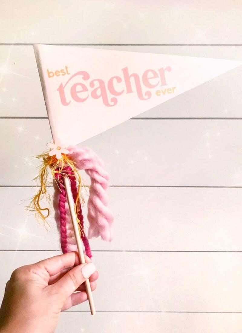 FREE DOWNLOAD: Best Teacher Ever Pennant