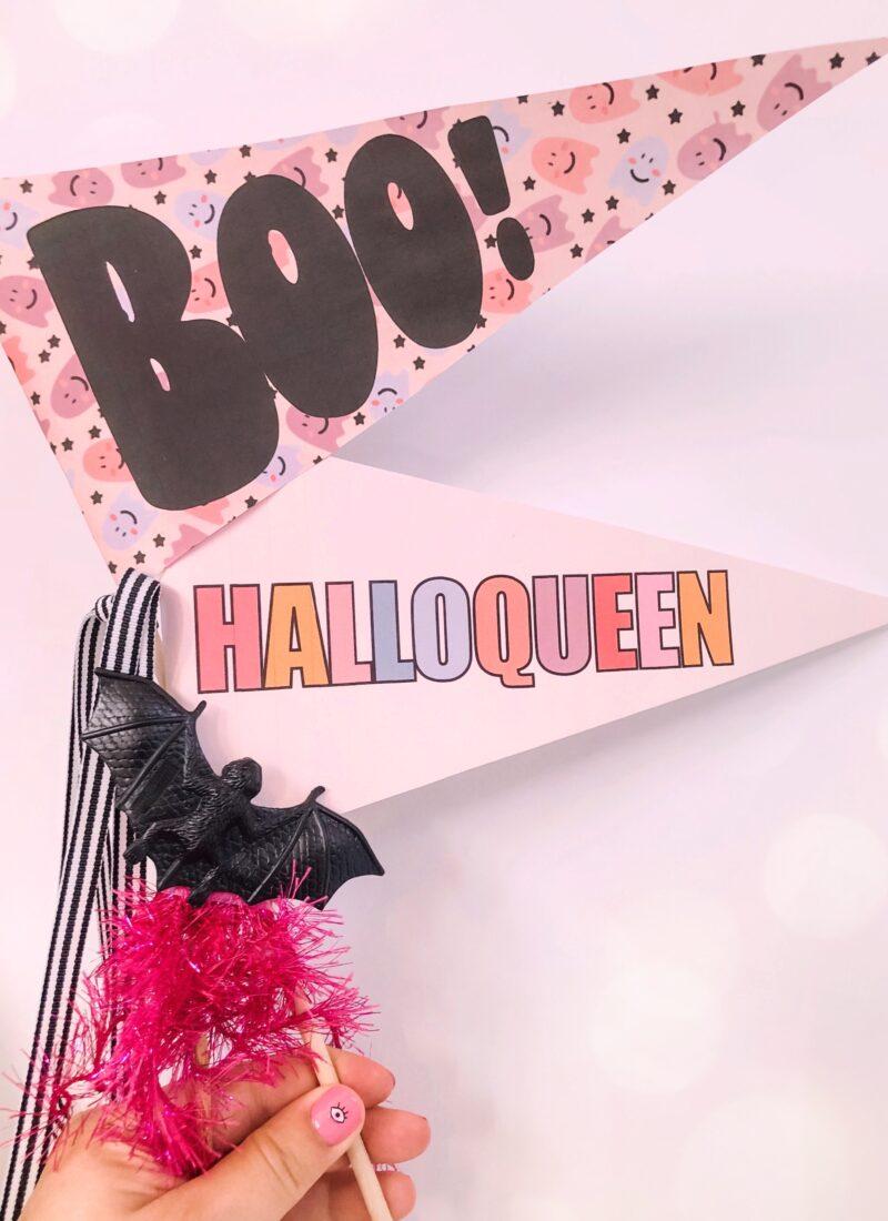FREE DOWNLOAD: Halloween Pennants